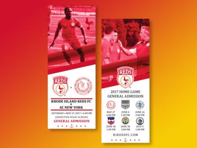 RI Reds FC Tickets