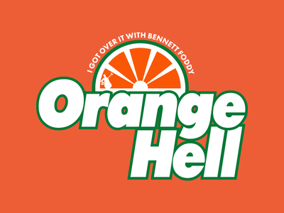 Orange Hell video game gaming getting over it foddy bennett