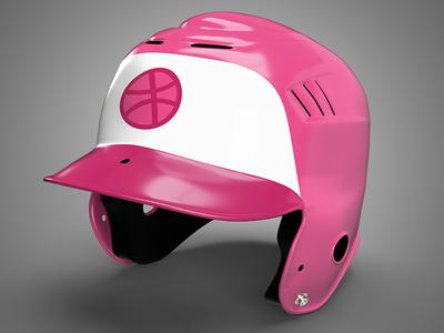 Batting Helmet Mockup