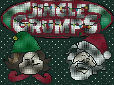 Jingle Grumps Ugly Sweater ugly sweater christmas jingle grumps game grumps