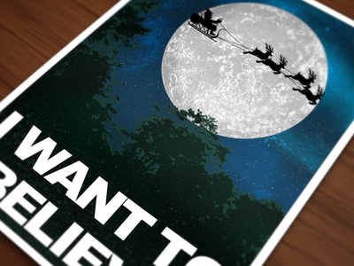 I Want To Believe aliens christmas santa x files