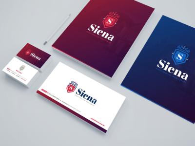 Siena Investimentos - Stationery Design