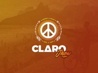 Claro Jhow - Logo Design (Reggae Band)