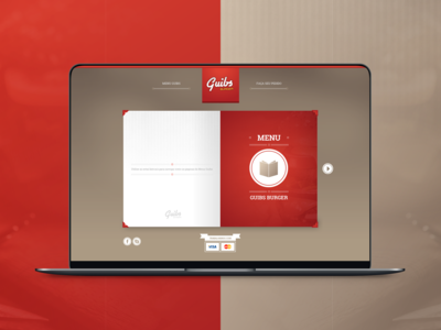 Guibs Burger - Web Design