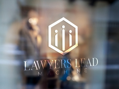 Logo Design concept for 'Lawyers Lead Machine' poster