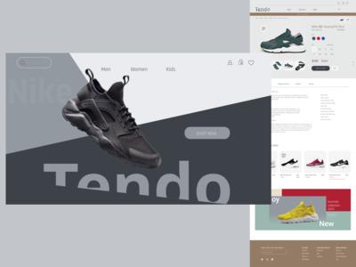 Sports shoe online store