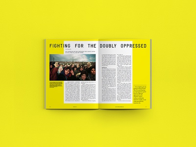 Kosovo 2.0 - Editorial Design print mockup minimal design yellow magazine layout editorial