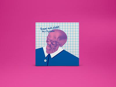 MTNJ - Album Art Cover school pink skull illustration album-art music cover