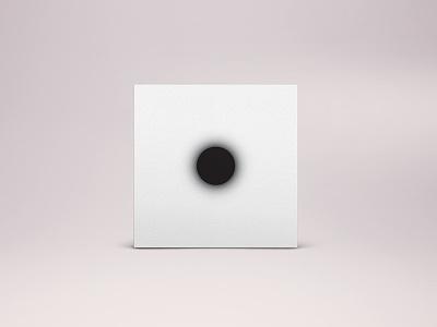 MTNJ - Album Art Cover sun black negative minimal dot illustration album-art music cover