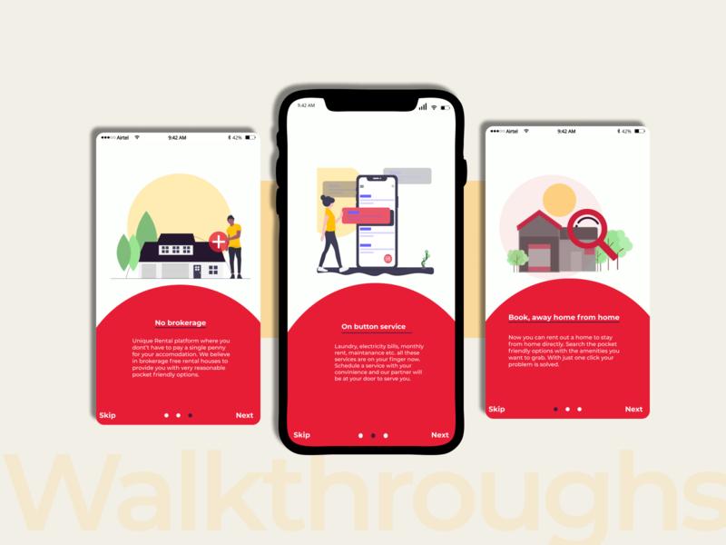Walkthroughs walkthroughs interaction design user interface design ui uidesign