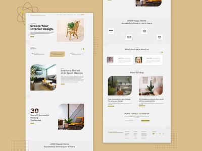 Atomic furnishing furniture website communication design interaction design user interface design ui uidesign