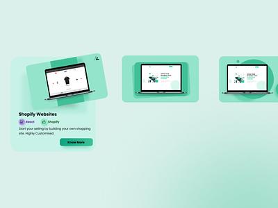 Portfolio Card Design ℹ uxdesign laptop mockup uiuxdesign webdesign uiux uidesign card portfolio