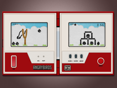 Game watch angrybirds dribbble