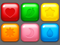 Puzzle mobile game elements