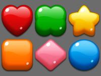 Puzzle Match-3 elements