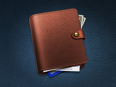 Wallet icon wallet free 512px 256px 128px 48px 32px 16px