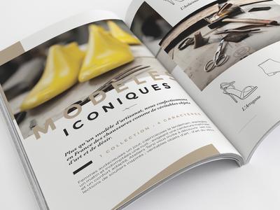 Ateliers Tersi - Interior Spread  print press shoes tersi grid