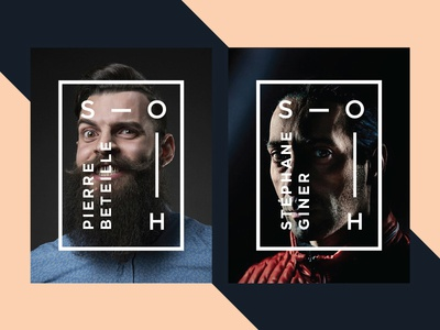 Studio Oh - Players photography branding poster