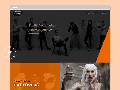 Studio Oh - Website website semplice photography portfolio