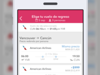 PriceTravel App - Flights