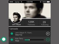 Fewernotes Music sharing app.