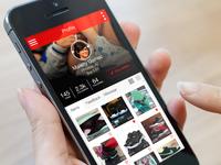 """Relaced"" Buy, Sell, Trade Sneaker App"