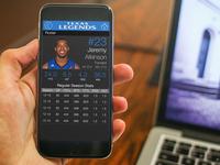 Texas Legends NBA Develpomental League Team App