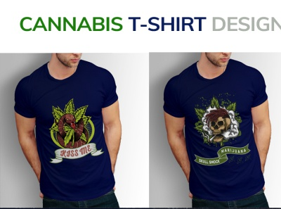 Cannabis T-Shirt Design