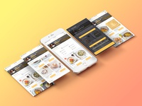 Thyme iOS Concept - Food Delivery App