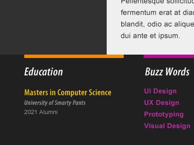 Resume Template resume print web template cv