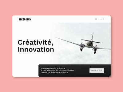Home page gradient graphic design portfolio aviation flat design minimalism ux ui uiux web design