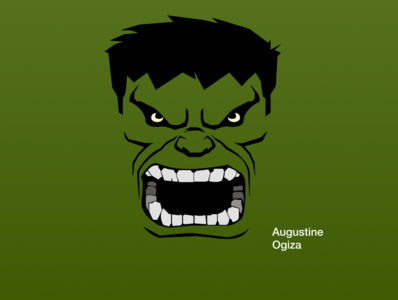 Hulk Illustration vector illustration