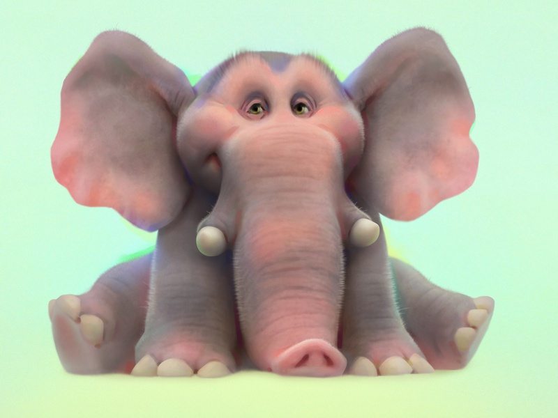 elephant elephant baydakov aleksey animals animation advertising concept cartoon character design illustration