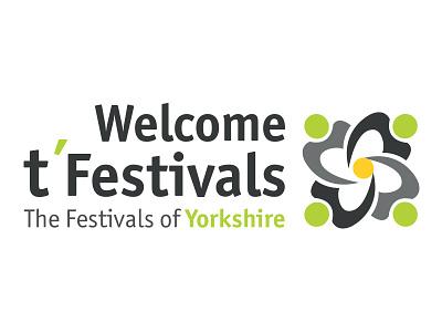 t'Festivals Logo rose logo yorkshire
