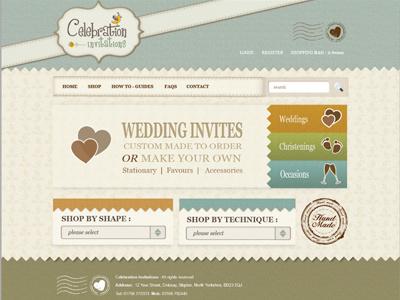 Crafty Web Design - Bigger Picture crafty texture website