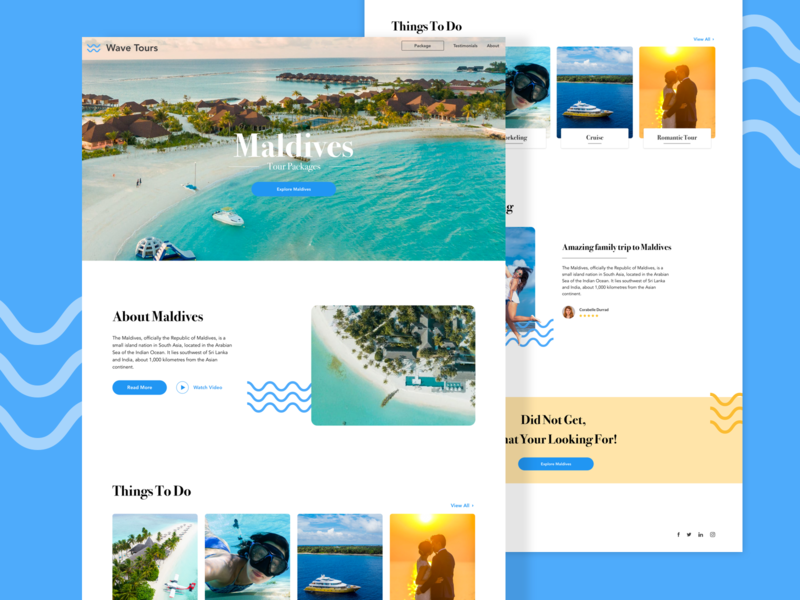 Travel Website design romantic holiday website ui traveling travel