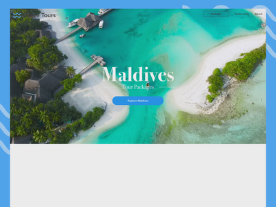 Travel Website Interaction travel holiday website design gif ux ui animation interaction design