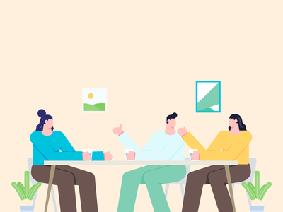 Group Discussion | Crafttor group chat chat friends group discussion group vector design character graphic ui illustration