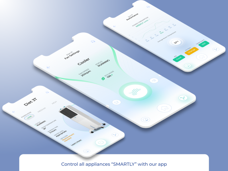 Control your Appliances with us inspirational exploration ux sexy