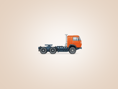 Kamaz wheel truck heavy vehicle kamaz icon
