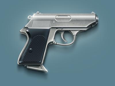 Gun gun pistol weapon