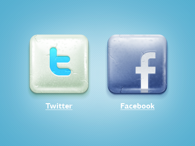Social Chewing Gum chewing gum social network twitter facebook icon