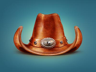 8 cowboy hat