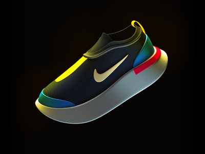 Sneakers design footwear nike sneakers render c4d 3dmodel 3d