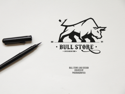 Bull store logo