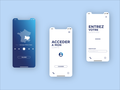 Mobile Application Concept responsive design responsive mobile application uiux web ux ui design ui concept design