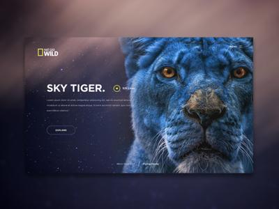 Exotic Animals ui blue sky exotic animals