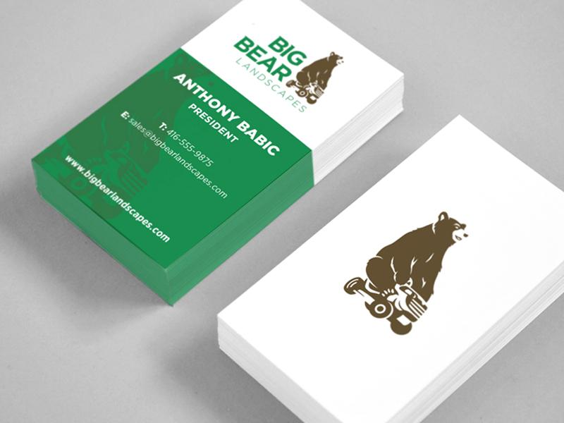 Grant Burke / Projects / Big Bear Landscaping - Dribbble