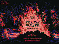 Prairie Pirate Beer Label