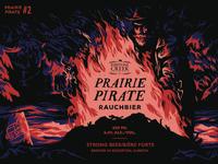 Prairie Pirate Beer Label